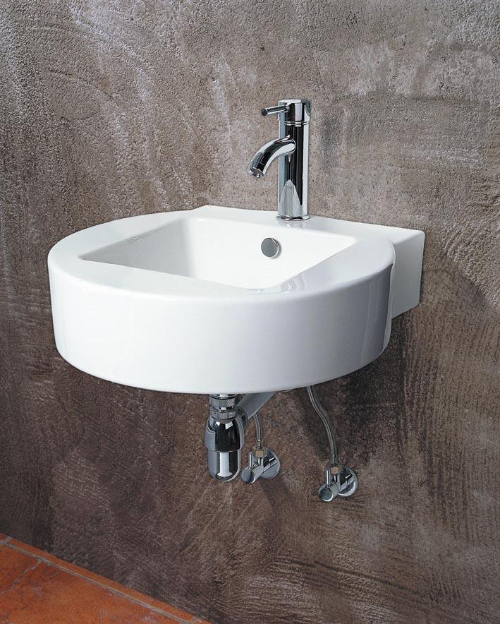waschtisch waschbecken aus keramik wandmontage inkl nano beschichtung ebay. Black Bedroom Furniture Sets. Home Design Ideas