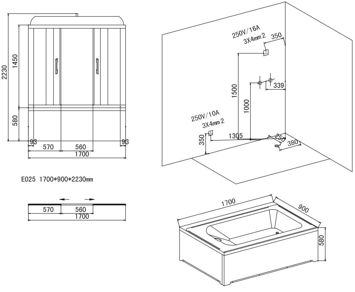 dampfdusche mit whirlpool crw wilding serie ae025 ebay. Black Bedroom Furniture Sets. Home Design Ideas