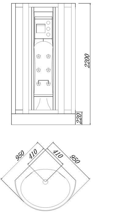 dampfdusche-zeichnung-u682