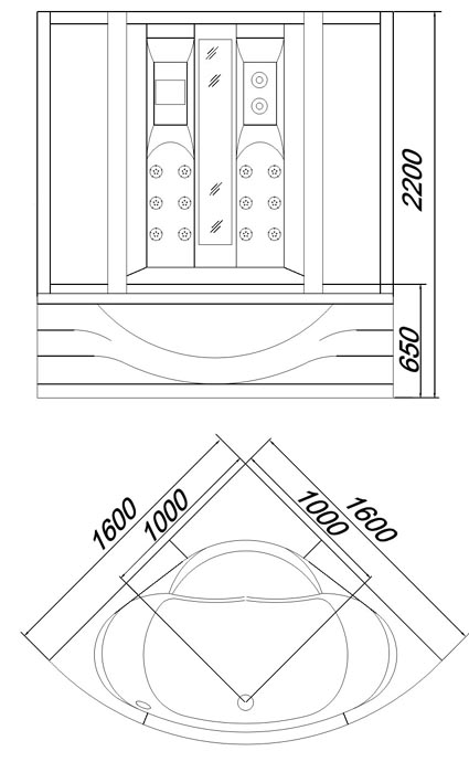 zeichnung-dampfdusche-u689