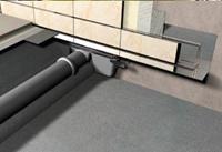 Duschrinnen APZ 5 SPA für die Wandmontage