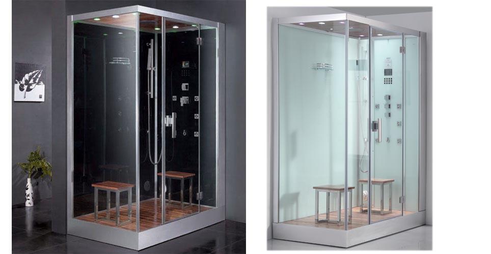 dampfdusche eago dz961f8 150x90 cm f r 2 personen ebay. Black Bedroom Furniture Sets. Home Design Ideas