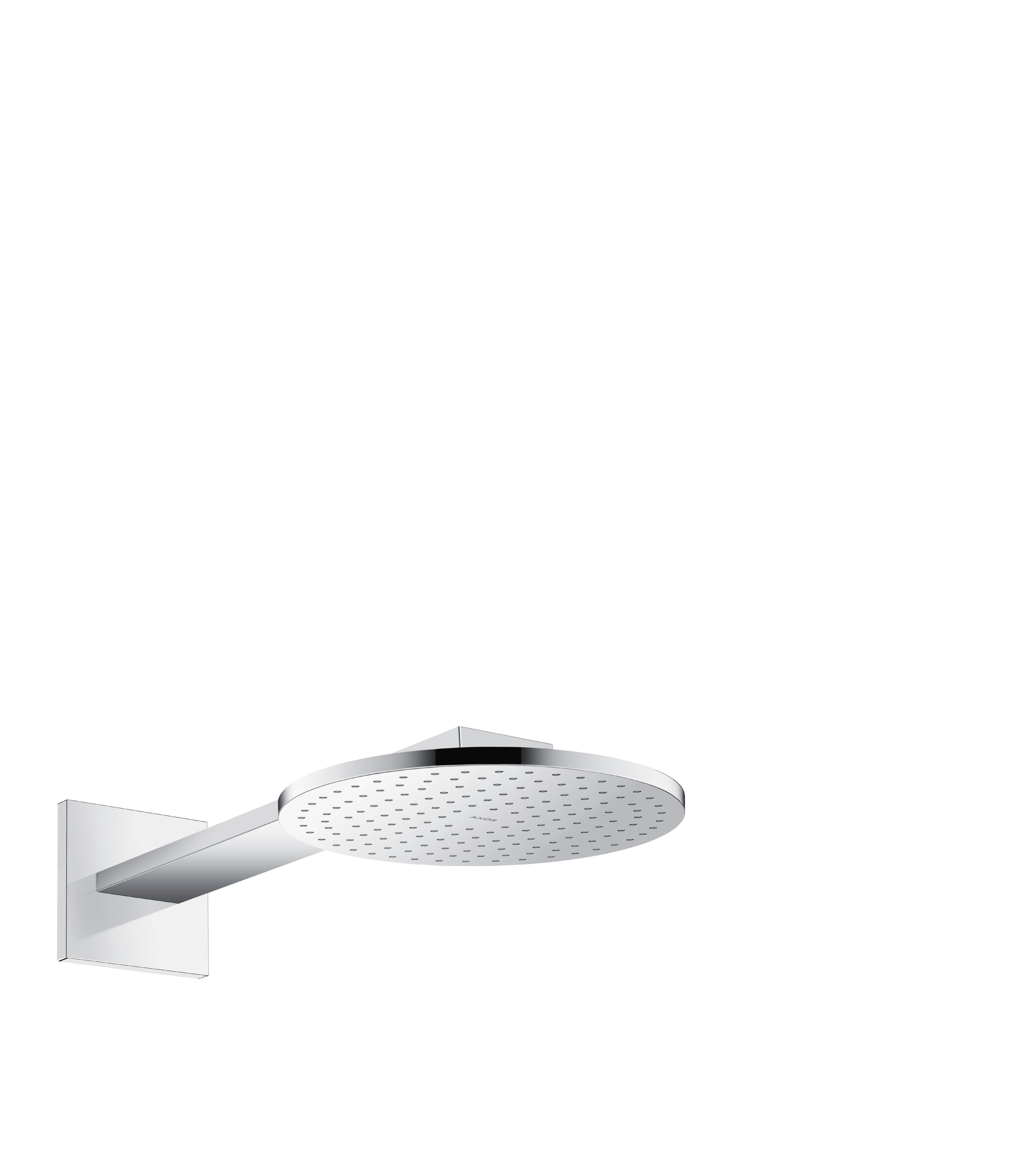 Details About Hansgrohe Shower Head 250 2jet Axor Chrome 35296000