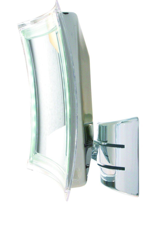 bravat enzo rodi 411210 led wandspiegel palini 16 x 16 cm chrom 5 fach ebay. Black Bedroom Furniture Sets. Home Design Ideas