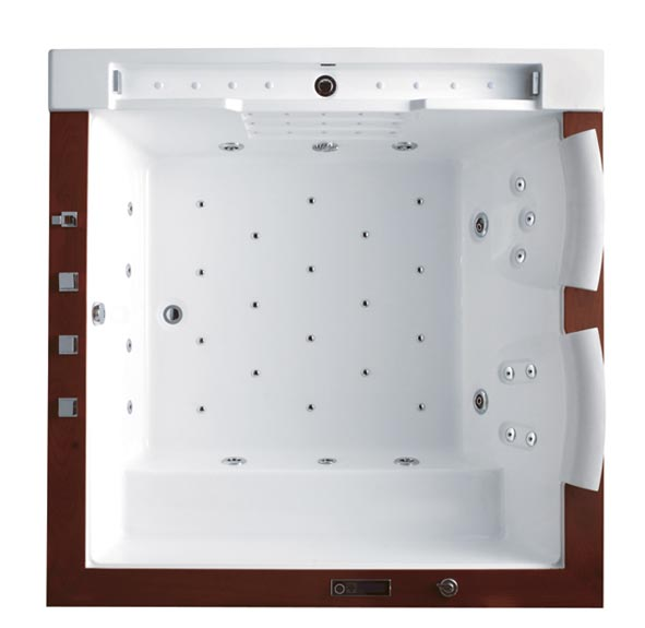 wellgems whirlpool wg u2608a whirlwanne badewanne m. Black Bedroom Furniture Sets. Home Design Ideas