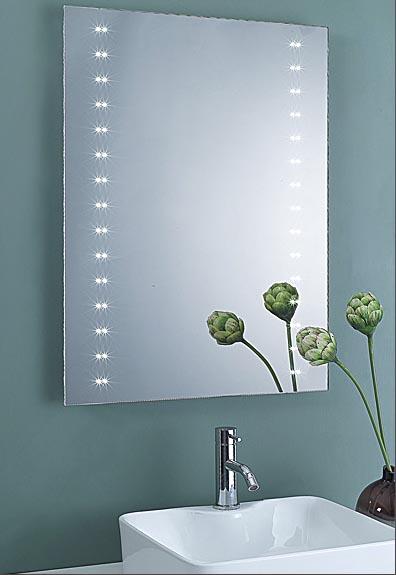 Design wand spiegel badezimmerspiegel mit led beleuchtung for Spiegel 100x60